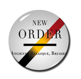 "New Order - Ancienne Belgique, Brussels 1"" Pin"