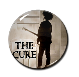 "The Cure - Boys Don't Cry 1"" Pin"