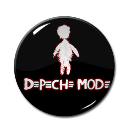 "Depeche Mode - Playing the Angel 1"" Pin"