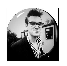 """Morrissey - Pic 1"""" Pin"""