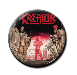 "Kreator - Terrible Certainty 1"" Pin"