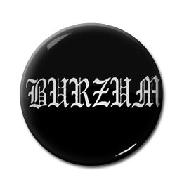 """Burzum - Logo 1"""" Pin"""