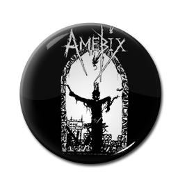 "Amebix - No Sanctuary 1"" Pin"