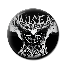 "Nausea - Extinct Demo 1"" Pin"
