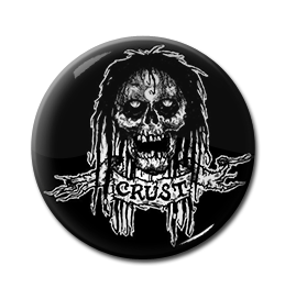 "Crust Skeleton 1"" Pin"
