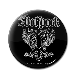 "Wolfpack - Lycanthro Punk 1"" Pin"