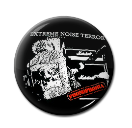 "Extreme Noise Terror - Phonophobia 1"" Pin"