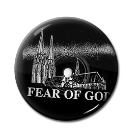 "Fear of God - Minster 1"" Pin"