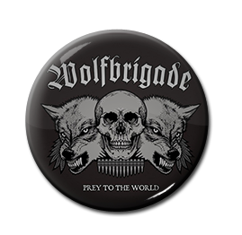 "Wolfbrigade - Prey to the World 1"" Pin"