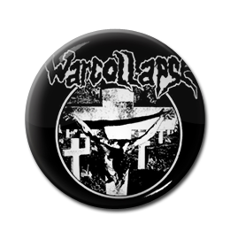"Warcollapse - Divine Intoxication 1"" Pin"