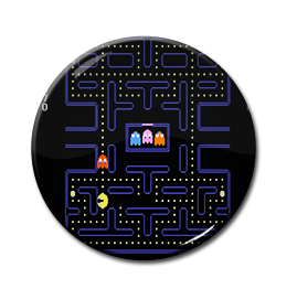 "Pac-Man - Game Board 1.5"" Pin"