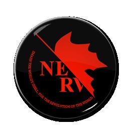 """Nerv - Logo 1.5"""" Pin"""