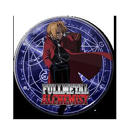 "Fullmetal Alchemist - Edward Elric 1.5"" Pin"