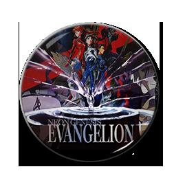 """Neon Genesis Evangelion - Death & Rebirth 1.5"""" Pin"""