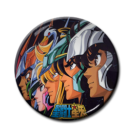 "Saint Seiya - Knights of the Zodiac 1.5"" Pin"