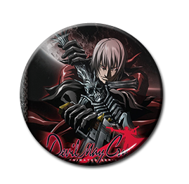 "Devil May Cry - Dante 1.5"" Pin"
