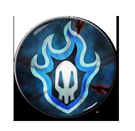 "Bleach - Soul Reaper Symbol 1.5"" Pin"