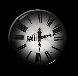 """Saw - Clock 1.5"""" Pin"""