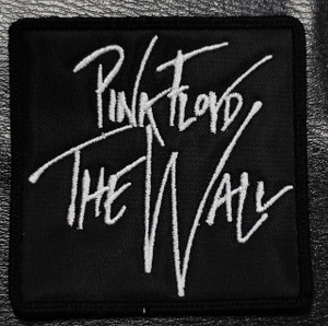 """Pink Floyd The Wall 3x3"""" Embroidered Patch"""