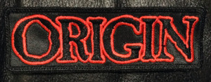 "Origin Logo 5x1.5"" Embroidered Patch"