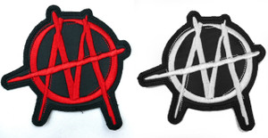 """Ministry M 3x3.25"""" Embroidered Patch"""