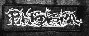"""Phobia Logo 4x1.5"""" Embroidered Patch"""