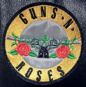 "Guns n Roses Guns Logo 3x3"" Embroidered Patch"