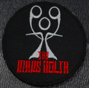 """Mars Volta 3x3"""" Embroidered Patch"""