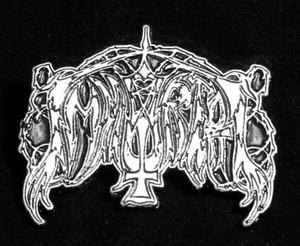 """Immortal - Logo 2"""" Metal Badge Pin"""