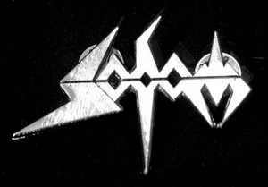 "Sodom - Logo 2"" Metal Badge Pin"