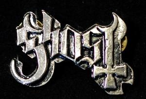 """Ghost - Logo 2"""" Metal Badge Pin"""