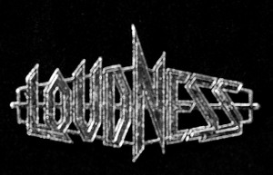 "Loudness - Logo 2"" Metal Badge Pin"