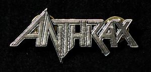 """Anthrax - Logo 2"""" Metal Badge Pin"""