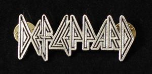"""Def Leppard - Logo 2"""" Metal Badge Pin"""