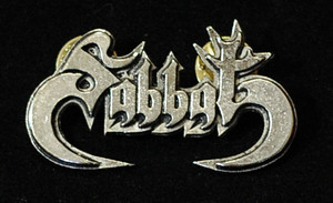 "Sabbat - Logo 2"" Metal Badge Pin"