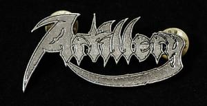 "Artillery - Logo 2"" Metal Badge Pin"
