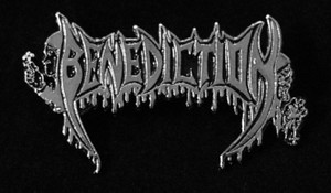 "Benediction - Logo 2"" Metal Badge Pin"