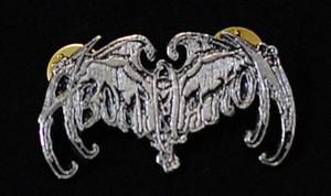"""Abomination - Logo 2"""" Metal Badge Pin"""