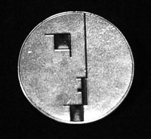 """Bauhaus - Logo 2"""" Metal Badge Pin"""
