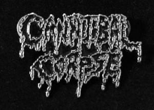 "Cannibal Corpse - Logo 2"" Metal Badge Pin"