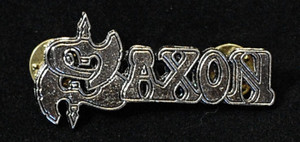 "Saxon - Logo 2"" Metal Badge Pin"