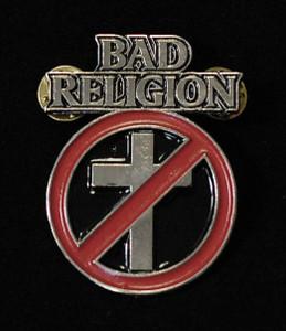"""Bad Religion - Logo 2"""" Metal Badge Pin"""