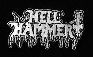 "Hellhammer - Logo 2"" Metal Badge Pin"