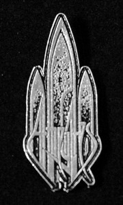 """At the Gates - Logo 2"""" Metal Badge Pin"""