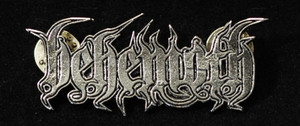 """Behemoth - Logo 2"""" Metal Badge Pin"""