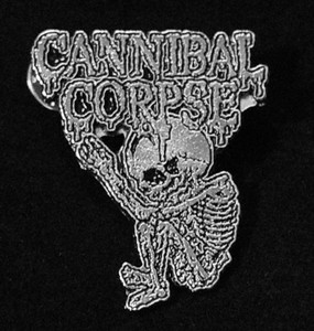 """Cannibal Corpse - Butchered at Birth 2"""" Metal Badge Pin"""