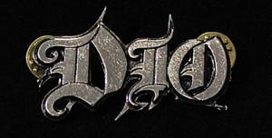"""Dio - Logo 2"""" Metal Badge Pin"""
