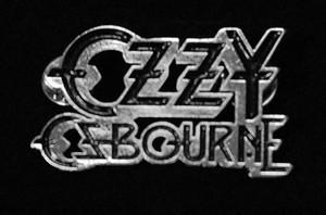 "Ozzy Osbourne - Logo 2"" Metal Badge Pin"