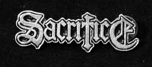 "Sacrifice - Logo 2"" Metal Badge Pin"