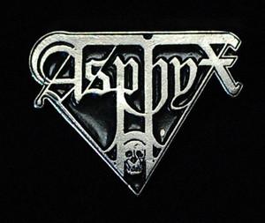 """Asphyx - Logo 2"""" Metal Badge Pin"""